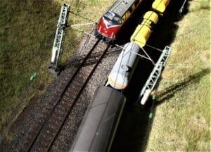 Gleisplanung, Gleisabstand 46 mm