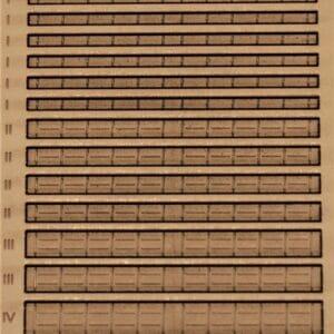 Art.Nr.: 21017 Blechkanäle Gr. I bis IV