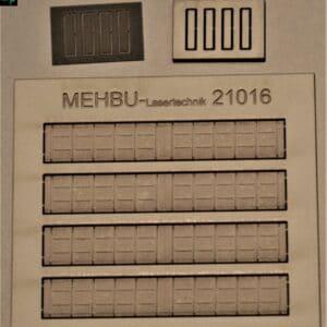 Art.Nr.: 21016 Blechkanäle Gr. VI